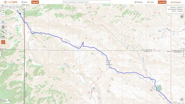 mission creek to walthier